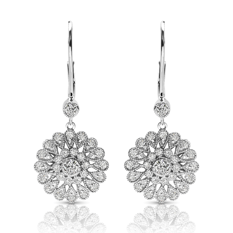 FEA47 Diamond Earring