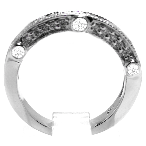 Legacy Diamond Wedding Band 0.35 tcw. In 14K White Gold