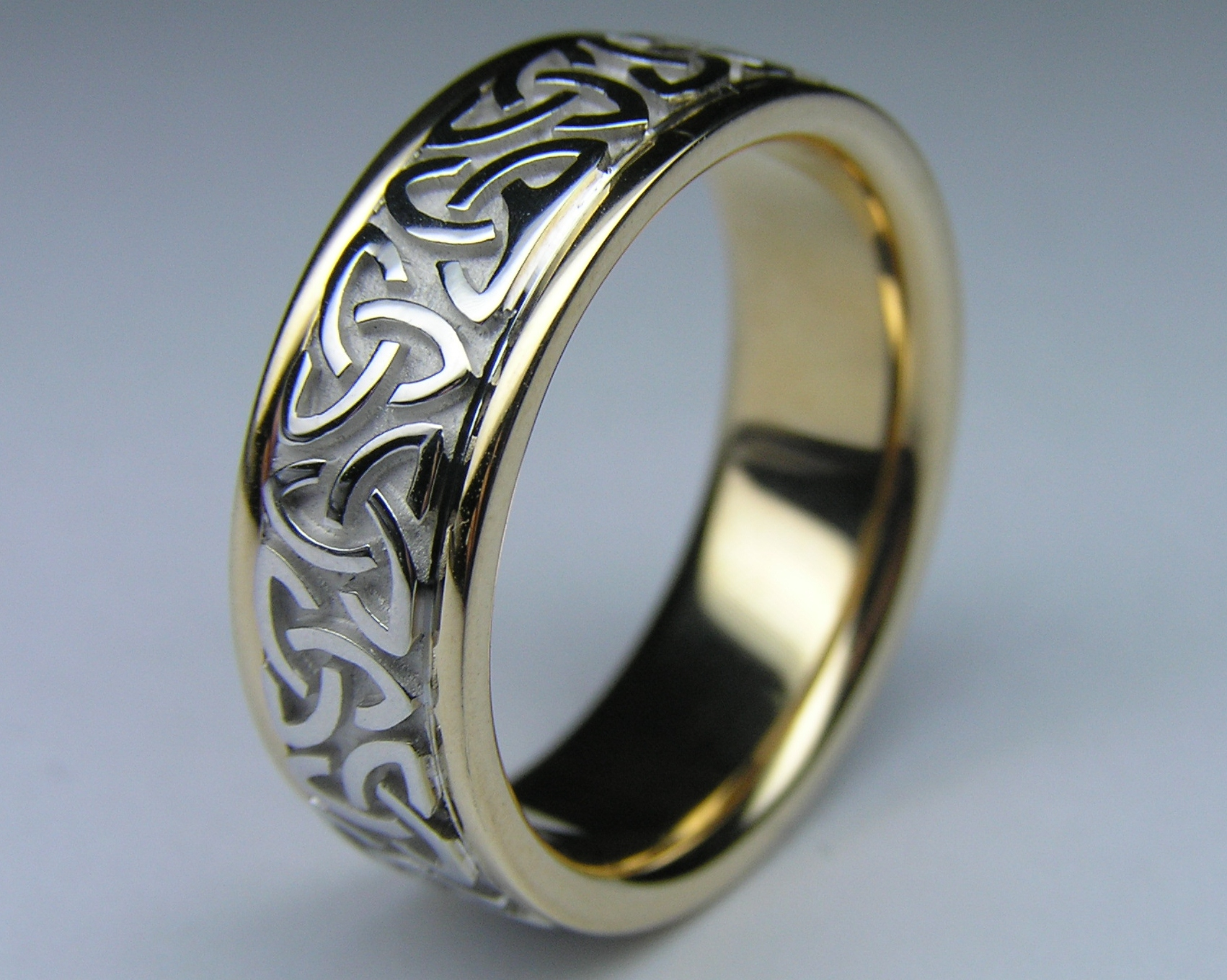 name zoom rings wedding over celtic engraved knot band drag roll larger image to sterling couples silver