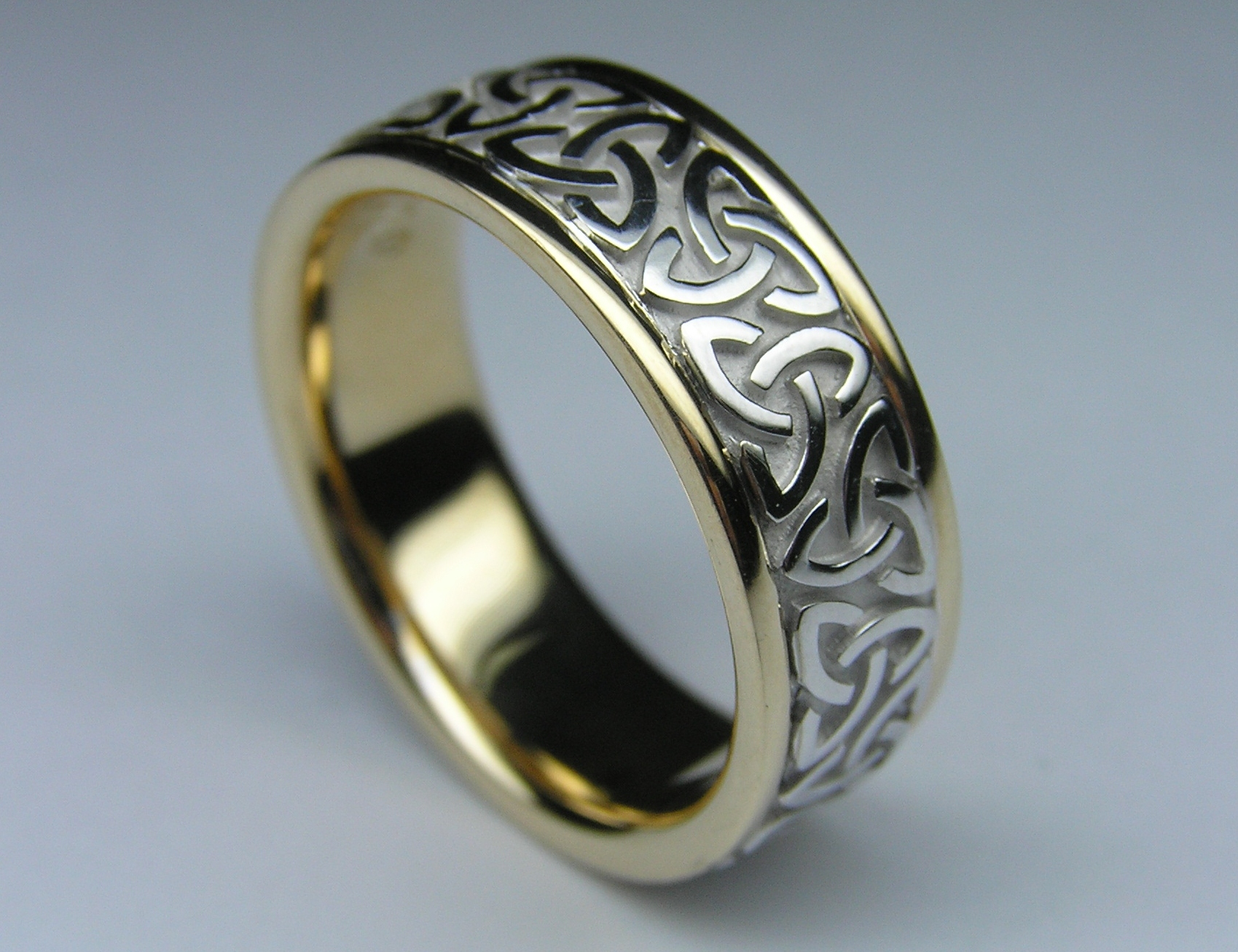 ring rings celtic silver minconi in patricio knot sterling anillos product wedding set compromiso