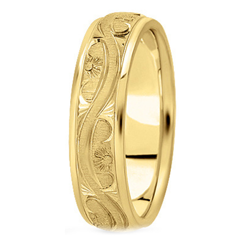 yellowgold Wedding Bands from MDC Diamonds