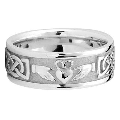 Gallery For Mens Claddagh Wedding Ring