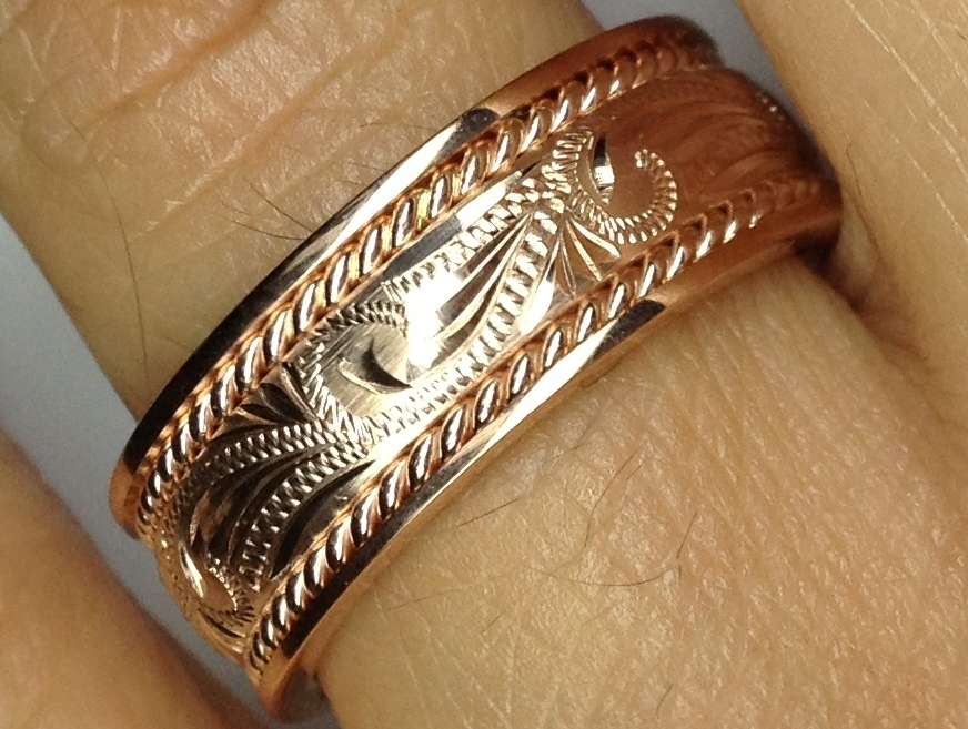 Engraved Wedding Bands From Mdc Diamonds