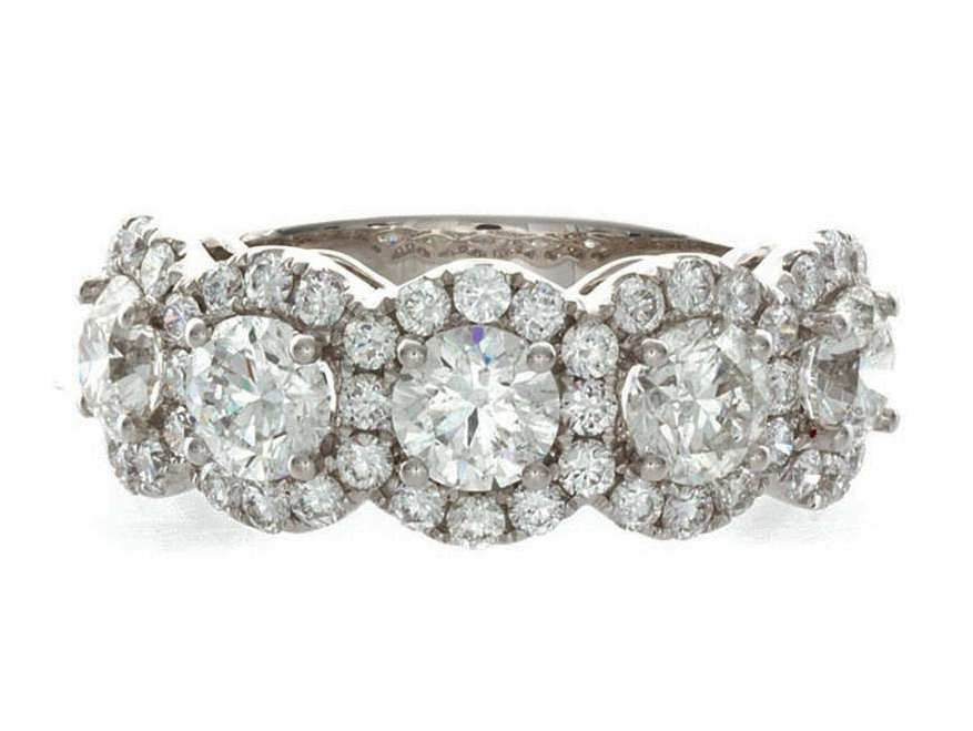 halo wedding bands from mdc diamonds