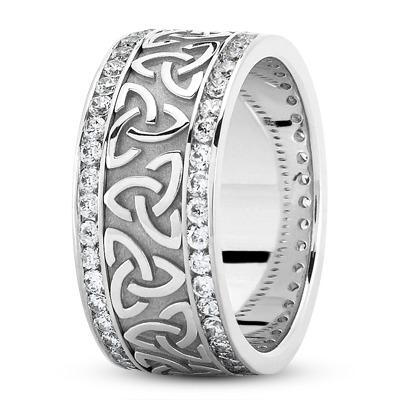 Platinum Celtic Wedding Rings Uk - Image Of Wedding Ring Enta-Web.Org