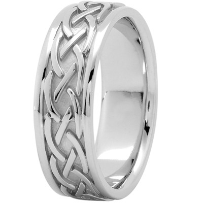 Celtic Mens Wedding Band