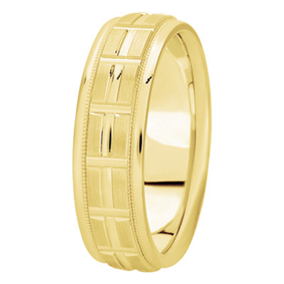 WB622YG Wedding Band