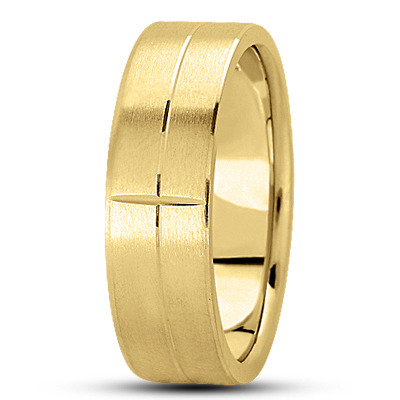 WB627YG Wedding Band