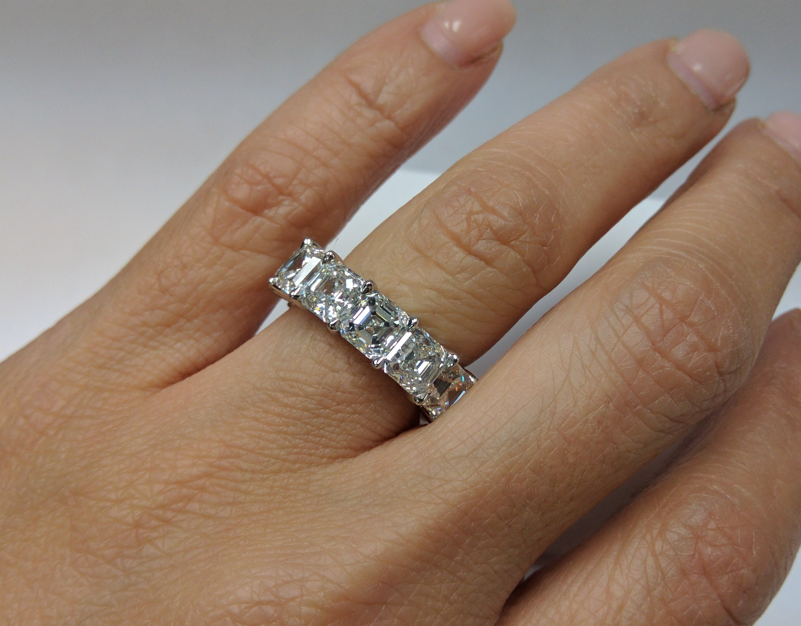 asher cut diamond engagement junikerjewelry set ring com bezel asscher