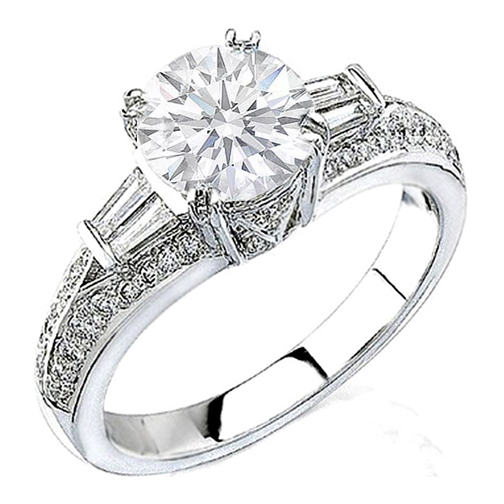 platinum rings engagement categories cuts six diamond claw ring all